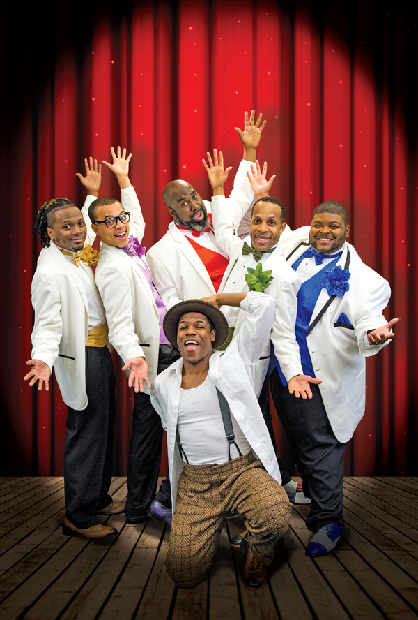 Photo Flash: Theatrical Outfit Presents FIVE GUYS NAMED MOE