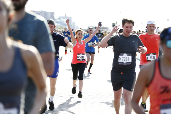 Photo Flash: Christy Altomare Sings National Anthem and Runs in 2019 Popular Brooklyn Half Marathon