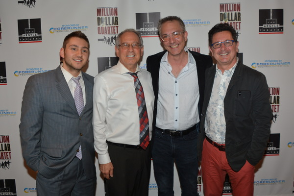 Dylan Perlman, Mark Perlman, Adam Pelty (Director) and Evan Pappas