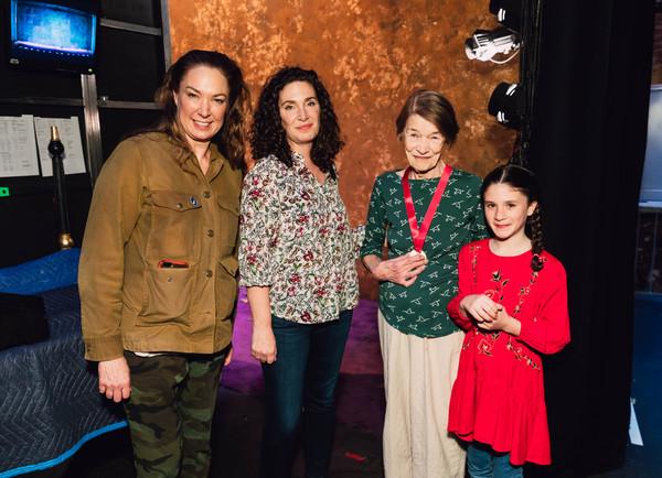 Glenda Jackson receives Lifetime Achievement Lilly Award Photo