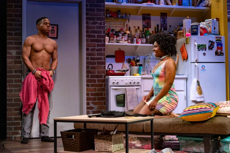 BWW Review: Aziza Barnes' Fast and Furiously Funny BLKS Follows Three Friends on a Crazy Night