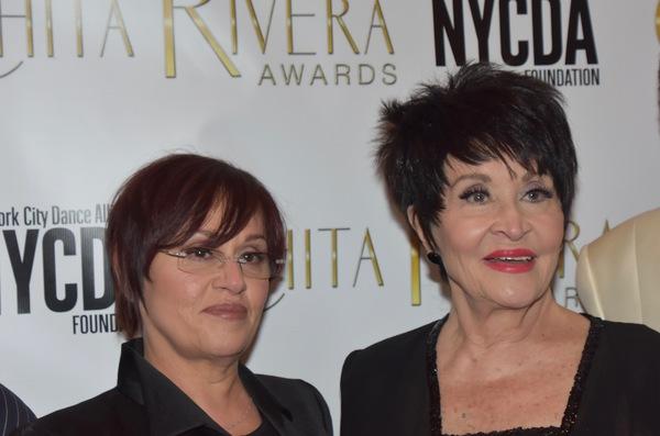 Lisa Mordenta and Chita Rivera