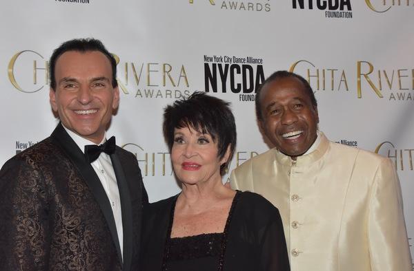 Jon Lanteri, Chita Rivera and Ben Vereen