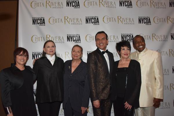 Lisa Mordenta, Ann Reinking, Graciela Daniela, Jon Lanteri, Chita Rivera and Ben Vere Photo