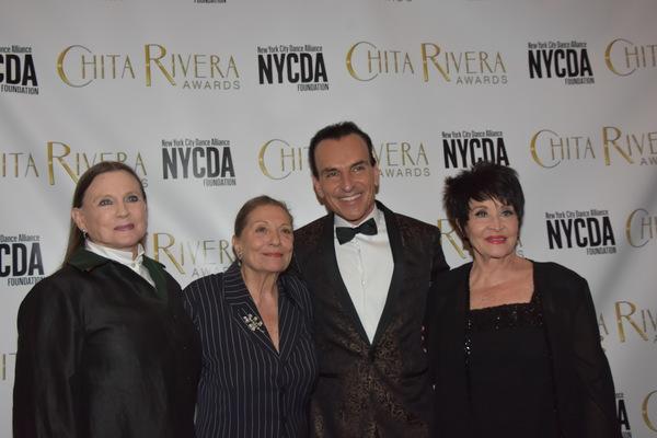 Ann Rinking, Graciela Daniele, Jon Lanteri and Chita Rivera