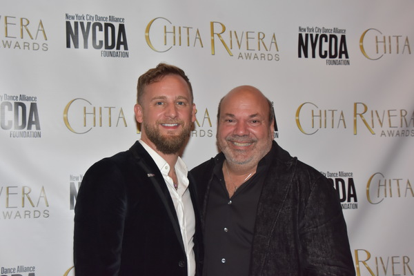John Marquette and Casey Nicholaw