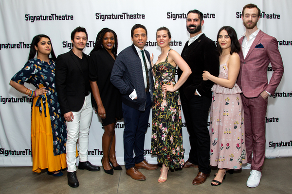 Photo Coverage: Dave Malloy's OCTET Celebrates Opening Night at Signature Theatre!