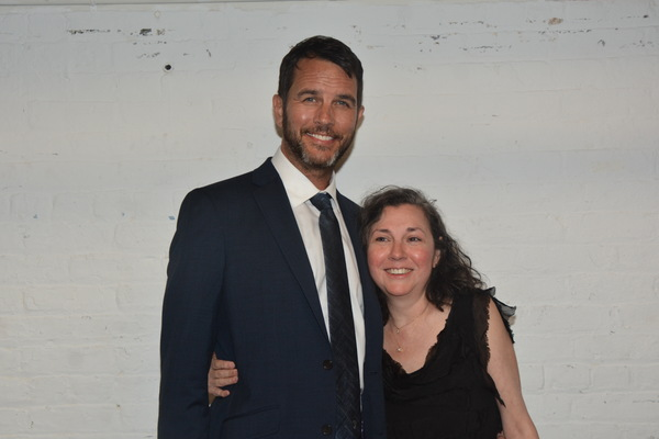 Douglas Ladnier and Holly Cruz (Stage Consultant) Photo