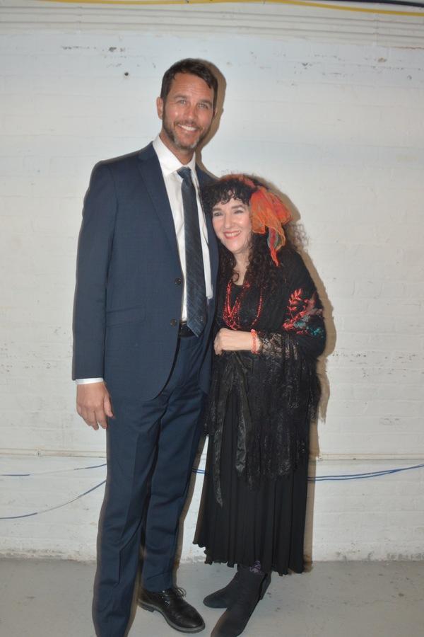 Douglas Ladnier and Barbara Siegel