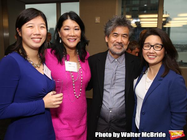Arianna Chang, Nadine Wong, David Henry Hwang and Audrey Choi