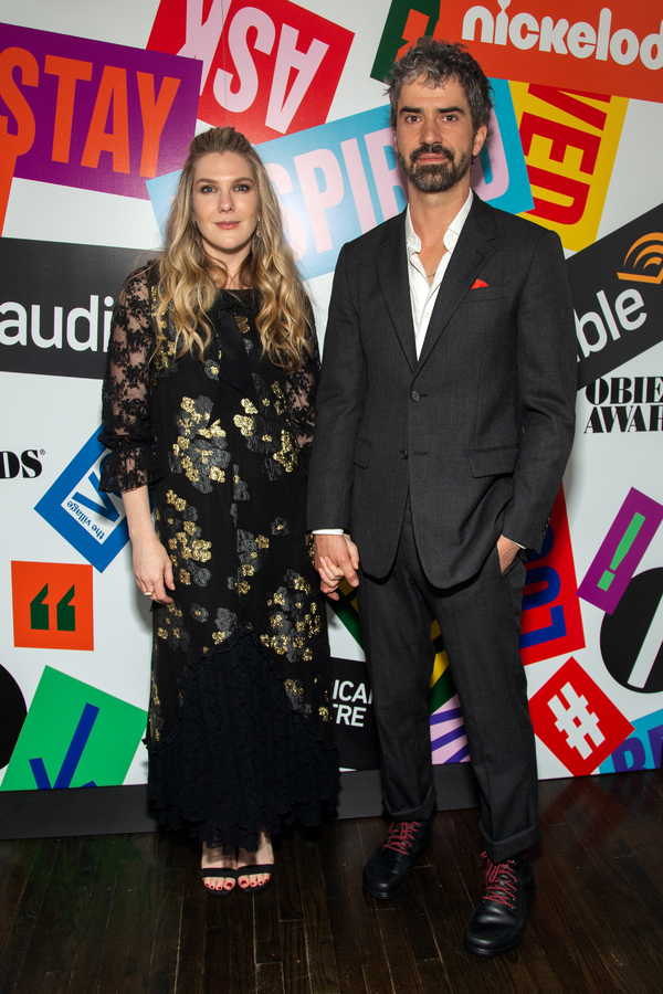 Lily Rabe, Hamish Linklater Photo