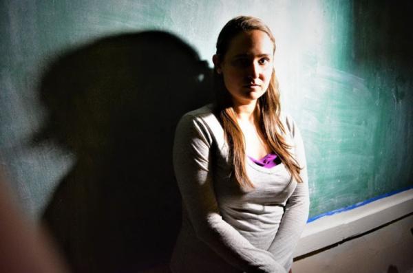 Savanna Rae as Faith. Photo by Bryan Renaud. Photo