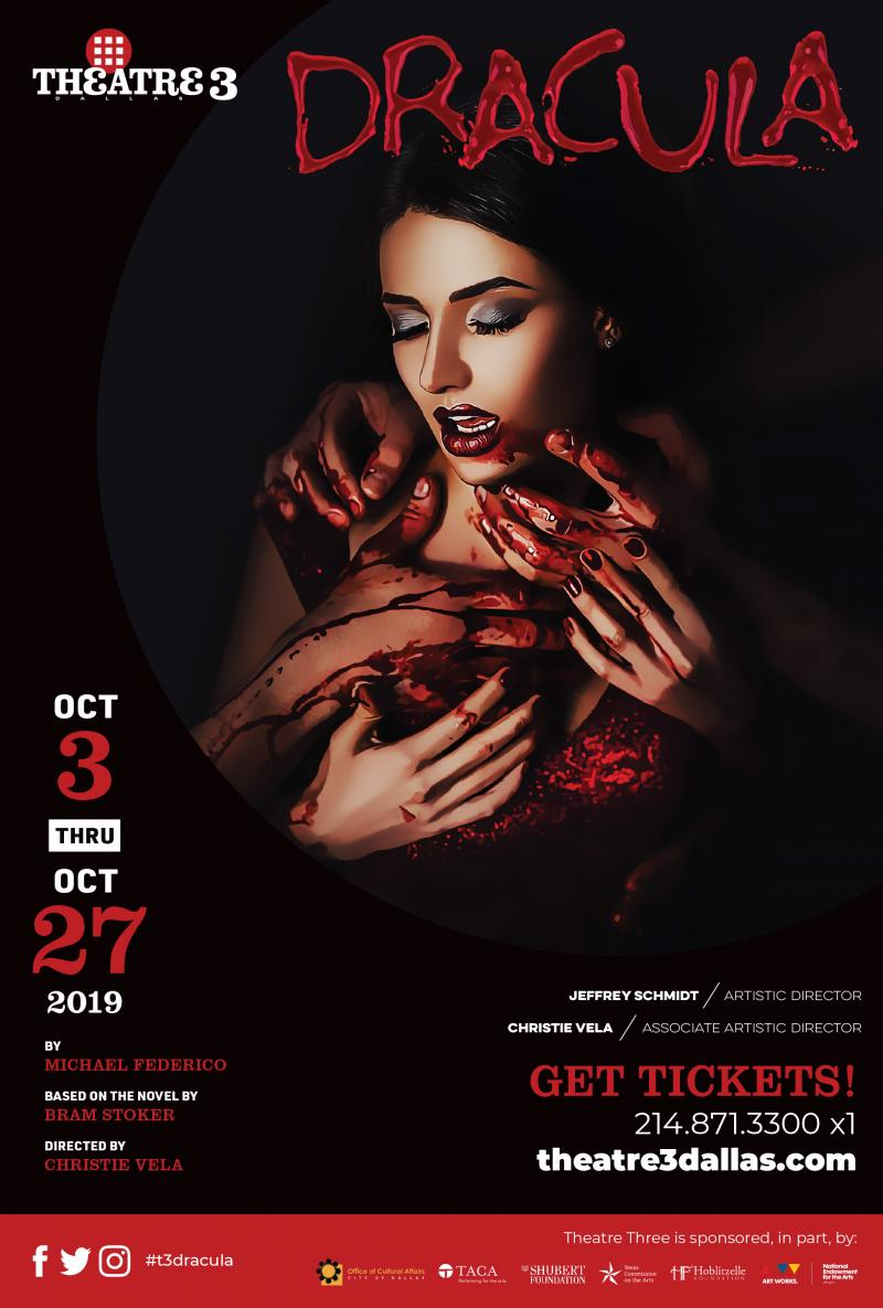 Female Forward Dracula Takes Shape At Theatre Three