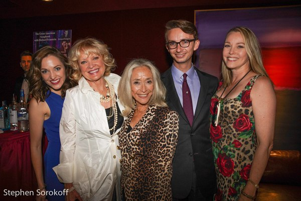 Laura Osnes, Christine Ebersole, Eda Sorokoff, Cole Rumbough, Lea Jensen Rumbough Photo