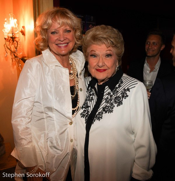 Christine Ebersole & Marilyn Maye Photo