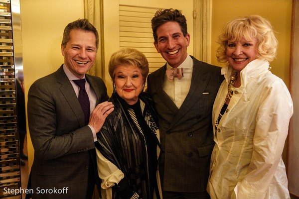 Tom Postillio, Marilyn Maye, Mickey Conlon, Christine Ebersole Photo