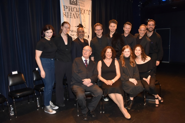 Stage Managers Chrysten Peddie and Igrid Pierson and Associate Director Stephen Brown-Fried join-Rajesh Bose, Ryan Spahn, Christian DeMarais, Christian Conn, Thom Sesma, Paxton Whitehead, Karen Ziemba, Susannah Perkins and Kate Abbruzzese