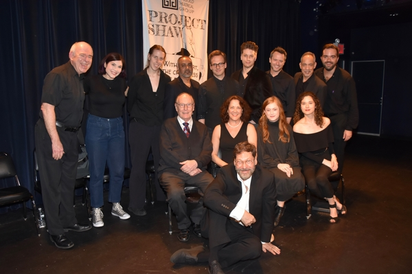Founding Artistic Director David Staller Stage Managers Chrysten Peddie and Igrid Pierson and Associate Director Stephen Brown-Fried join-Lenny Wolpe, Rajesh Bose, Ryan Spahn, Christian DeMarais, Christian Conn, Thom Sesma, Paxton Whitehead, Karen Ziemba,