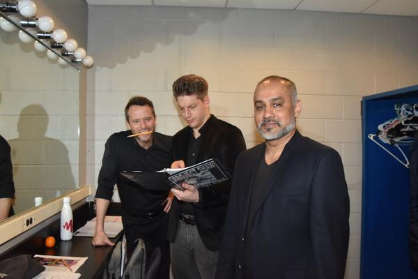 Christian Conn, Christian DeMarais and Rajesh Bose