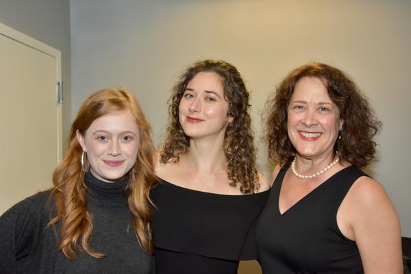 Susannah Perkins, Kate Abbruzzese and Karen Ziemba