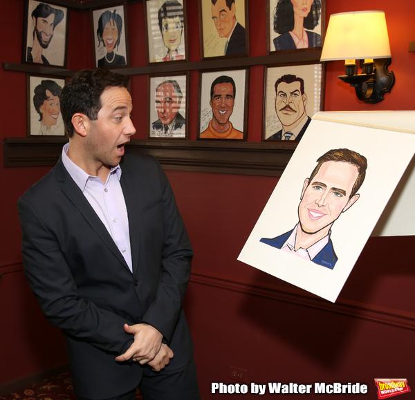 Photo Coverage: TOOTSIE Star Santino Fontana Gets His Very Own Sardi's Portrait