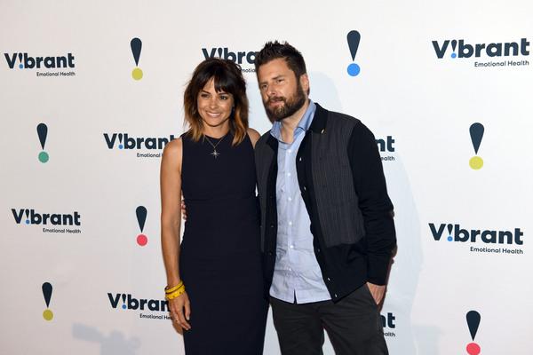 Stephanie Szostak and James Roday Photo