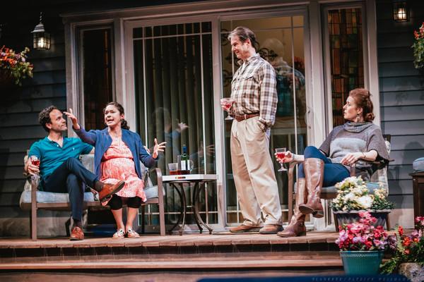 Erick Gonzalez, Monica Rae Summers Gonzalez, Paul DeBoy, and Anne-Marie Cusson Photo