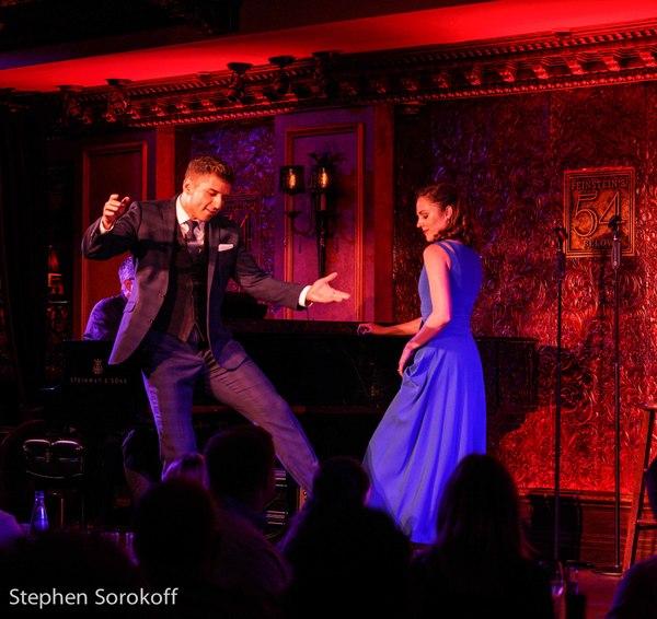 Photo Coverage: Laura Osnes and Tony Yazbeck Return To Feinstein's/54 Below