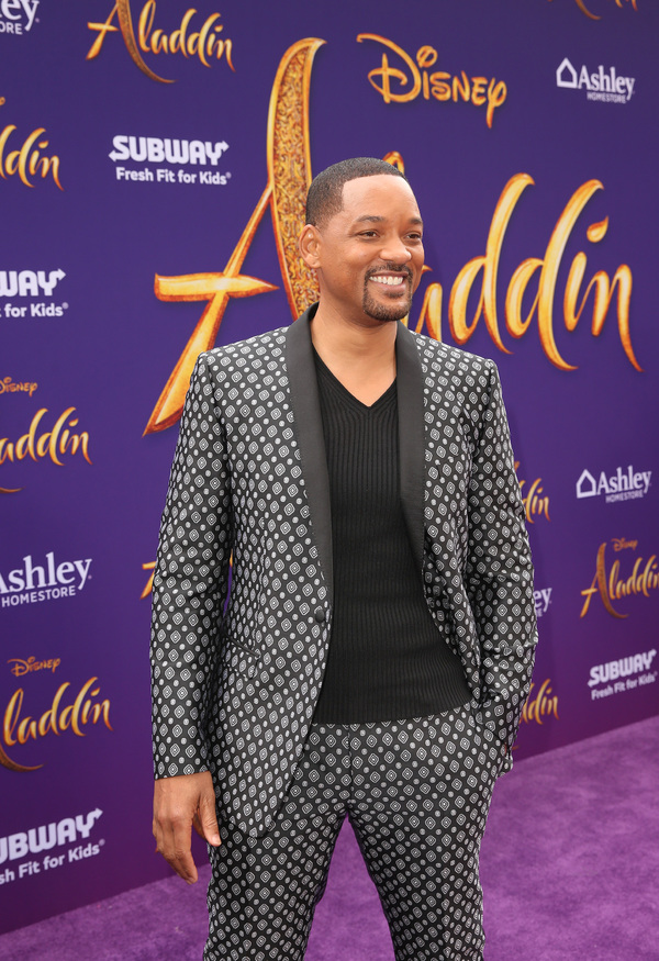 Photo Flash: See Will Smith, Alan Menken, Darren Criss, and More at the ALADDIN Premiere