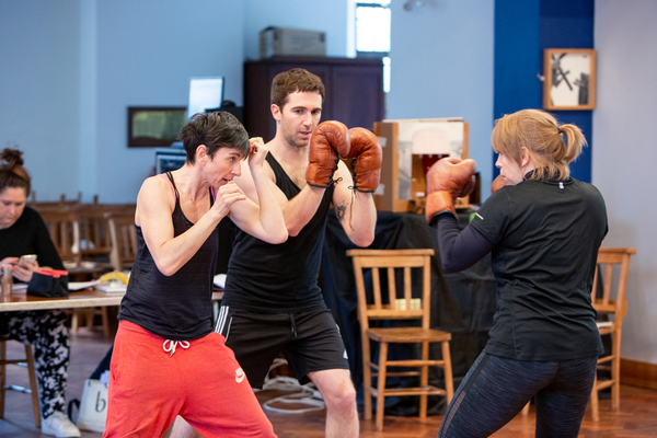Photo Flash: In Rehearsal with THE SWEET SCIENCE OF BRUISING