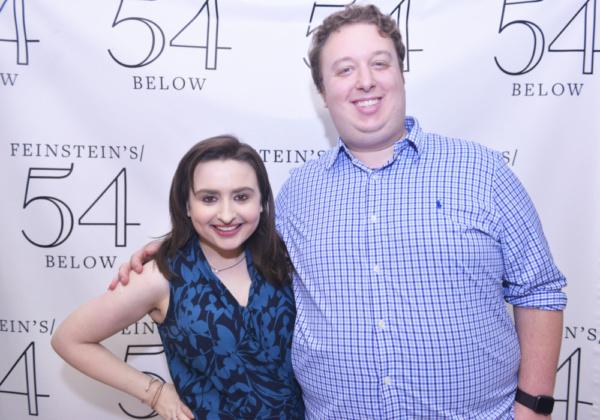 Jen Sandler and Ben Caplan Photo
