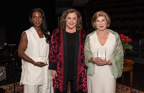 Lindsey Brittain Collins, Kathleen Turner and Nina Totenberg