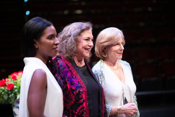 Lindsey Brittain Collins, Kathleen Turner and Nina Totenberg  Photo