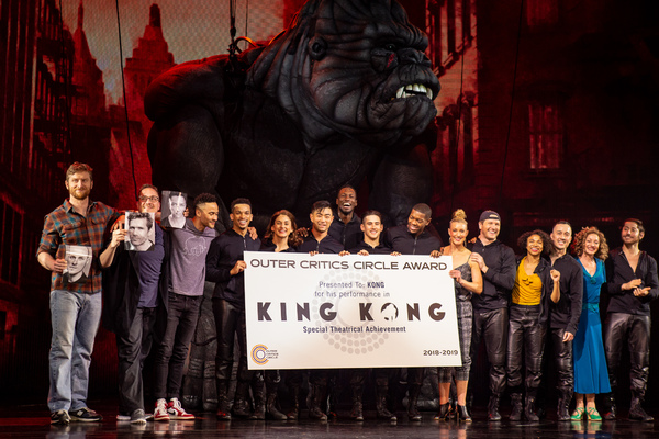Photo Coverage: KING KONG Receives Kong Sized 2019 Special Achievement Outer Critics Circle Award!