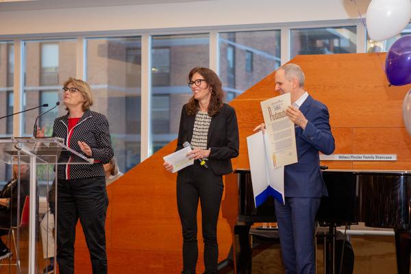 Photo Coverage: Signature Theatre Celebrates Its One-Millionth Subsidized Ticket Through the Signature Ticket Initiative!