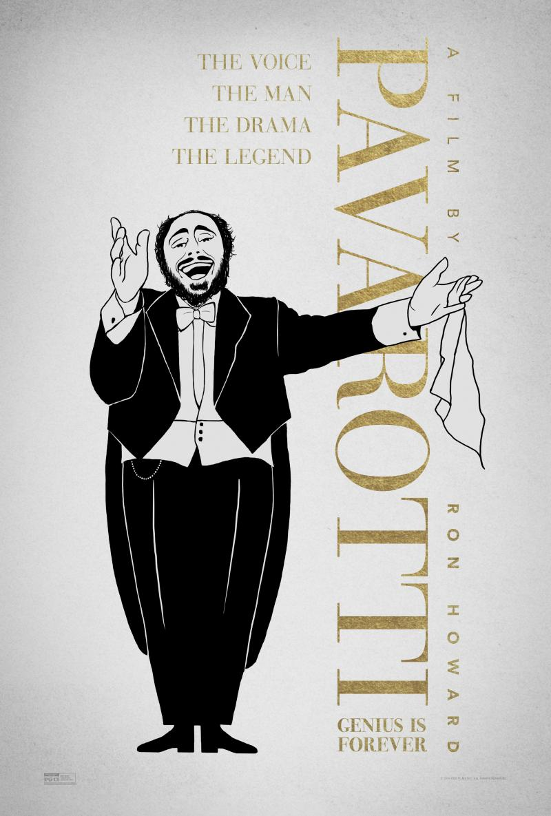 Photo: Exclusive Poster From Fathom Events PAVAROTTI