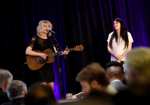 Photo Flash: Anaïs Mitchell, Rachel Chavkin and More Appear at Broadway Association Honors