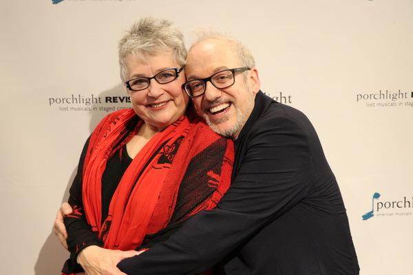 Liz Pazik and Mark David Kaplan Photo