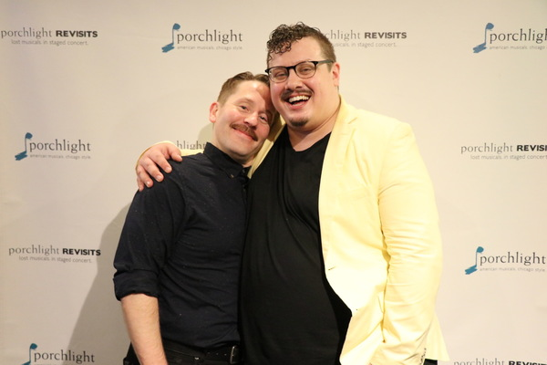 Justin Brill and Director Christopher Pazdernik Photo
