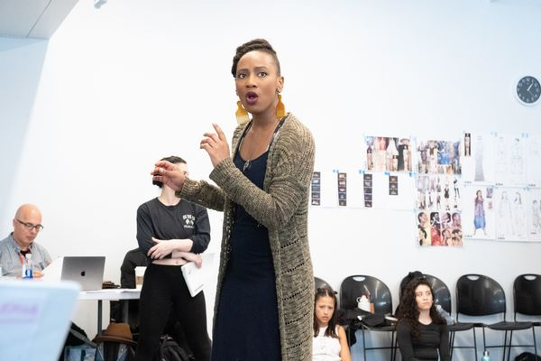 Photo Flash: In Rehearsal With AIDA At Axelrod Performing Arts Center