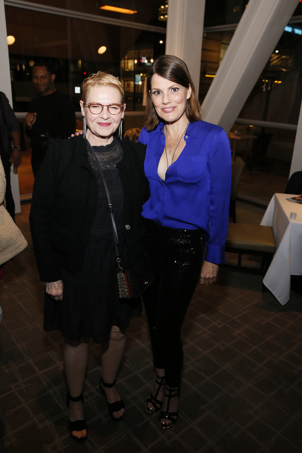 Dianne Wiest and Suzanne Cryer