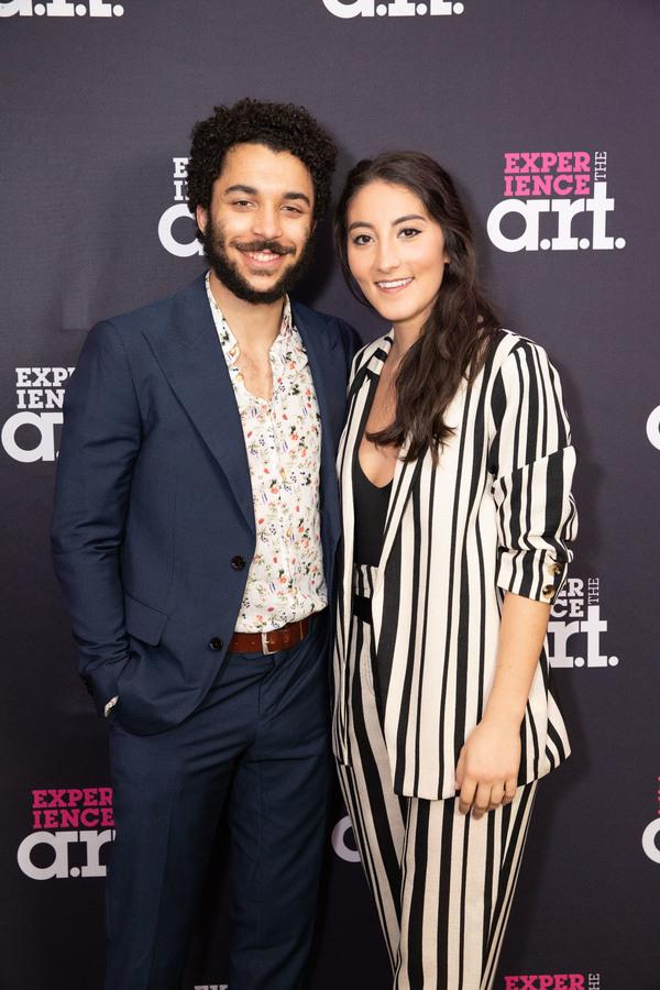 Jakeim Hart and Parisa Shahmir  Photo