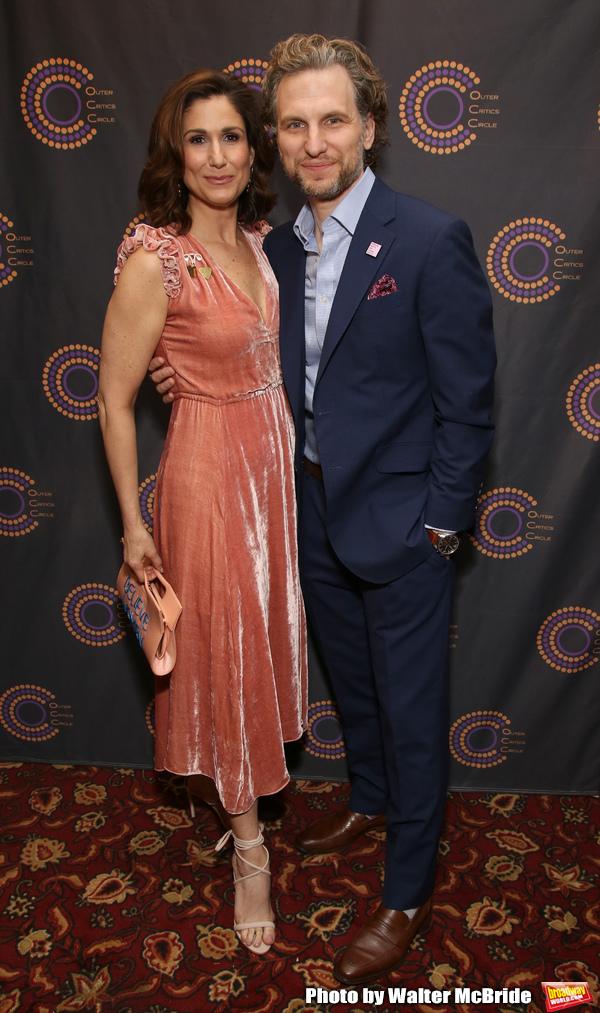 Stephanie J. Block and Sebastian Arcelus Photo