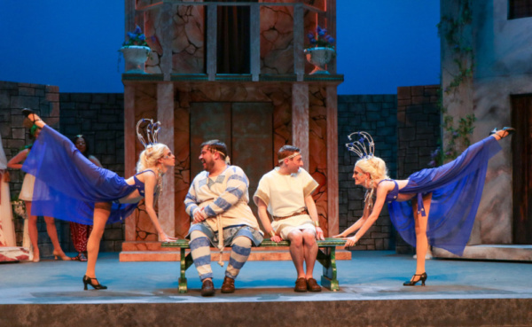 Photo Flash: First Look at A FUNNY THING... At Metropolis Performing Arts Centre