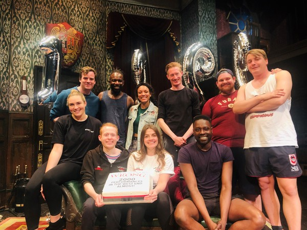 Photo: THE PLAY THAT GOES WRONG Celebrates its 1999th Performance in the West End
