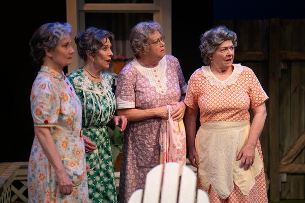 Peggy Friesen, Merle Moores, Deb Bluford & Jeannine Hutchings