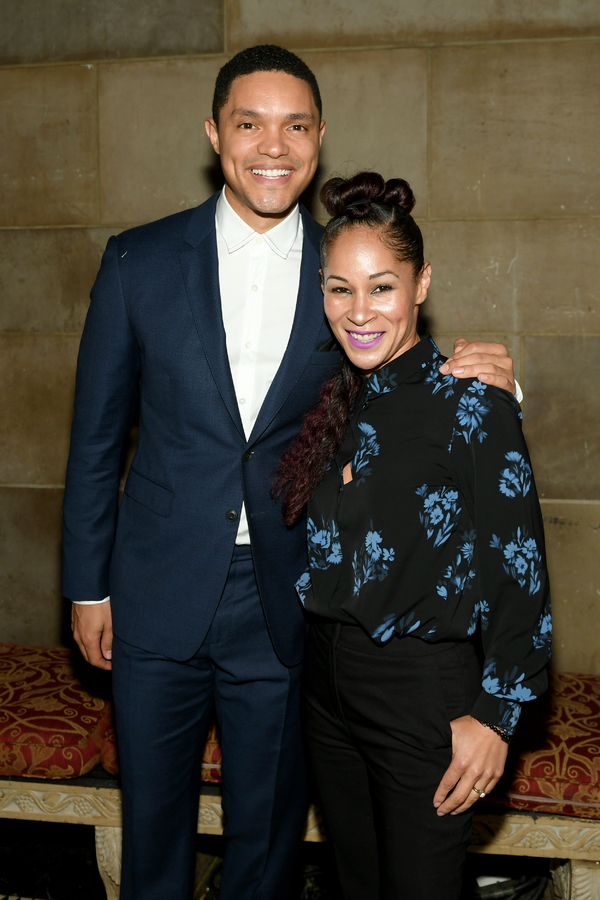 Trevor Noah and Ayodele Casel Photo