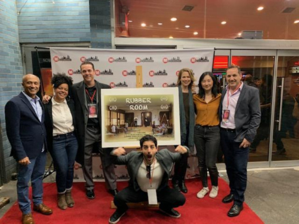 Photo Flash: First Look at RUBBER ROOM at Long Island International Film Expo