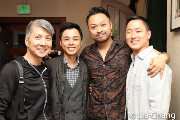 Jason Ma, Jonny Lee, Jr., Billy Bustamante, Daniel May after the performance of DANCE Photo