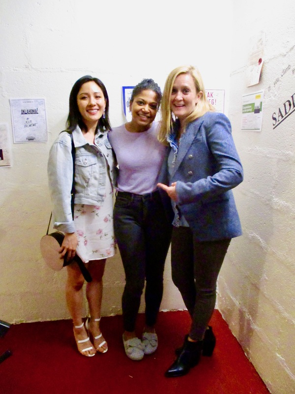 Constance Wu, Rebecca Naomi Jones, and Samantha Bee